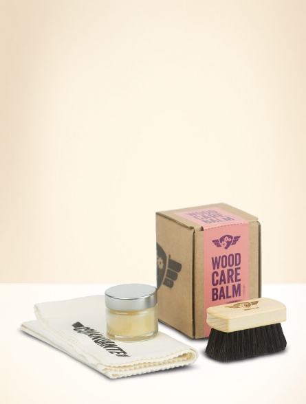 Wood Care Balm Set