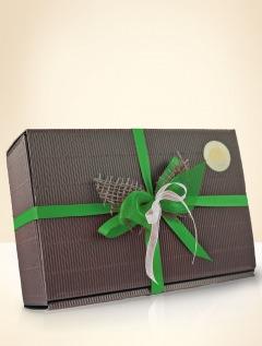 Geschenkbox Grün