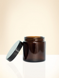 Replacement jar with lid brown