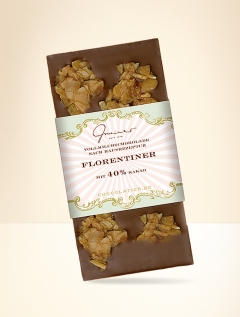 Chocolate with florentine