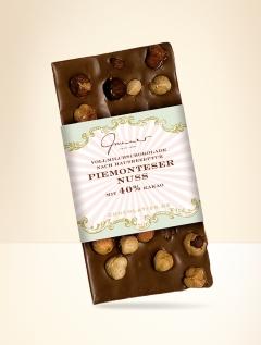 Piemontes nut milkchocolate