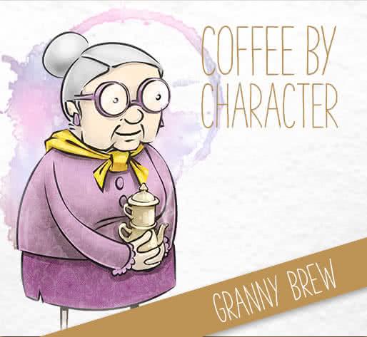 Startseite - Coffee by Charakter – Granny Brew