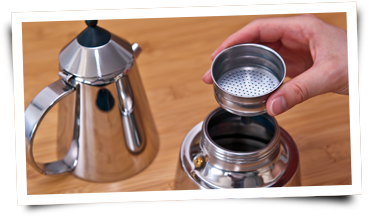 Espresso-Herdkocher - Schritt 03