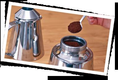 Espresso-Herdkocher - Schritt 04